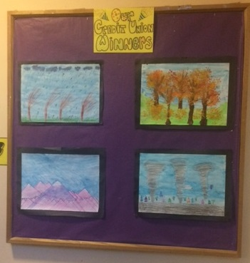 credit union art winners
